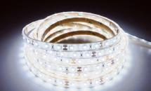 LuxaLight Long Life LED-strip White 5500K Waterproof (12 Volt, 60 Leds, 3528, IP68)