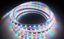LuxaLight Long Life LED-strip WS2812B Digital SPI RGBWW High Power Waterproof  (5 Volt, 60 LEDs, 5050, IP68)